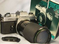 '   FR-II + 80-200MM NICE SET ' Yashica FR-II SLR Camera c/w 80-200mm Lens + Inst -NICE SET-  £29.99